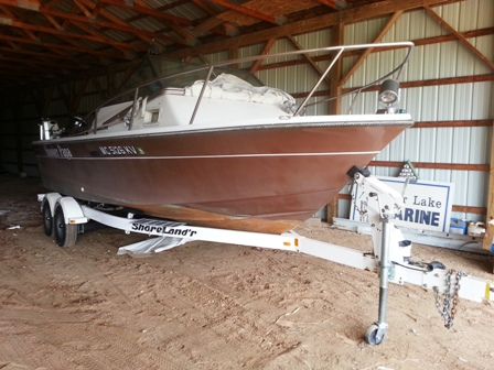 1982 AMF Robalo with Kicker and Trailer