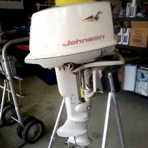 1963 Johnson 10HP engine