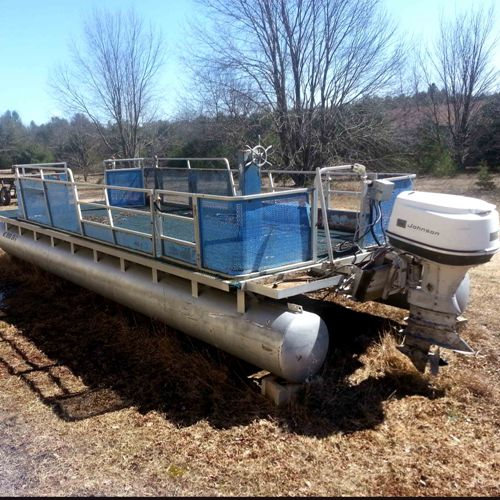 Read more: Pontoon Boat with 65 HP Johnson Outboard