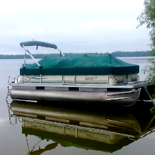 Crest Pontoon Sunbrella Cover