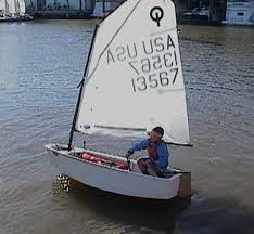 2008 Optimist Sailboat